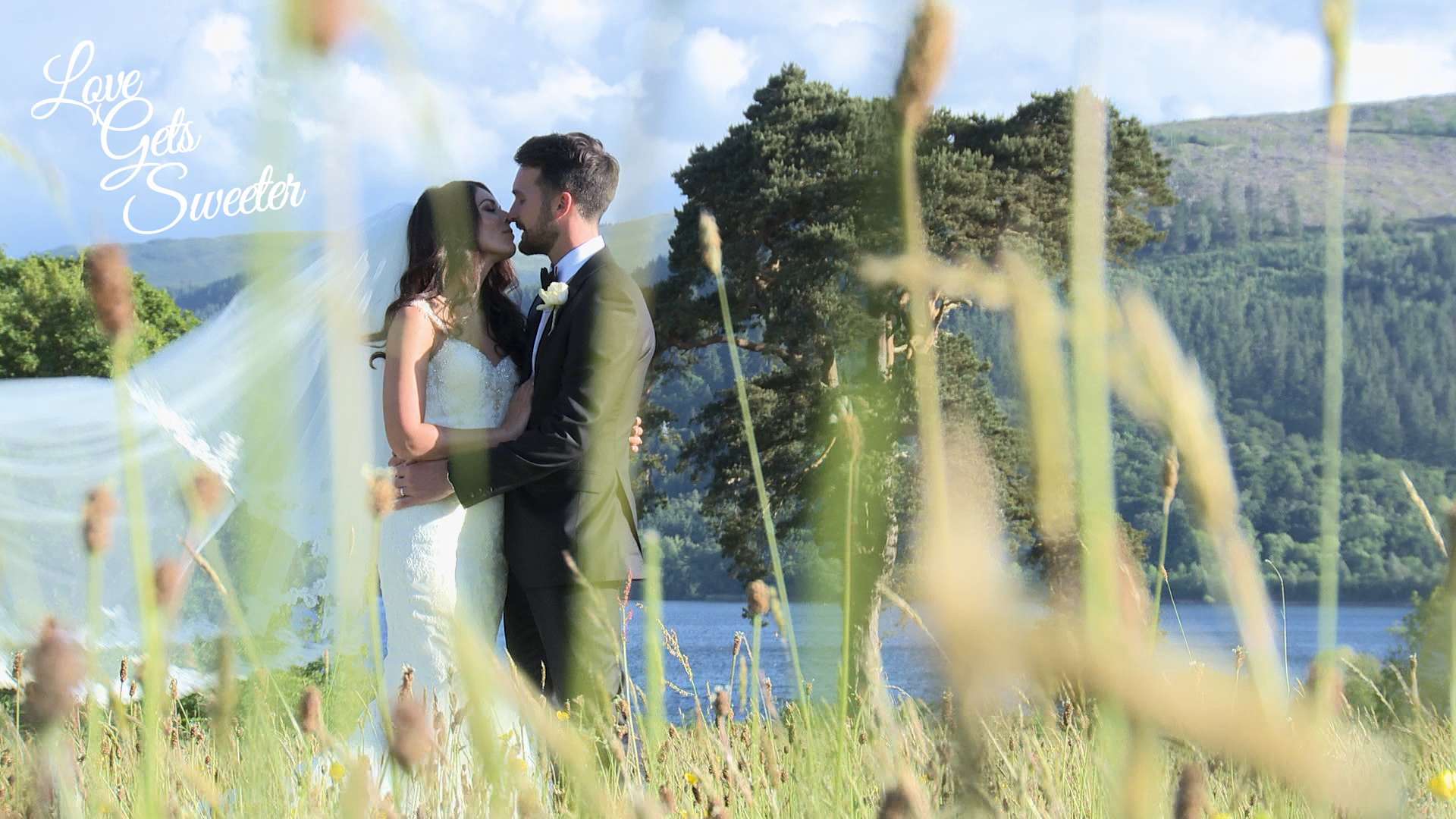 An Elegant and Stylish Lakes Wedding Video