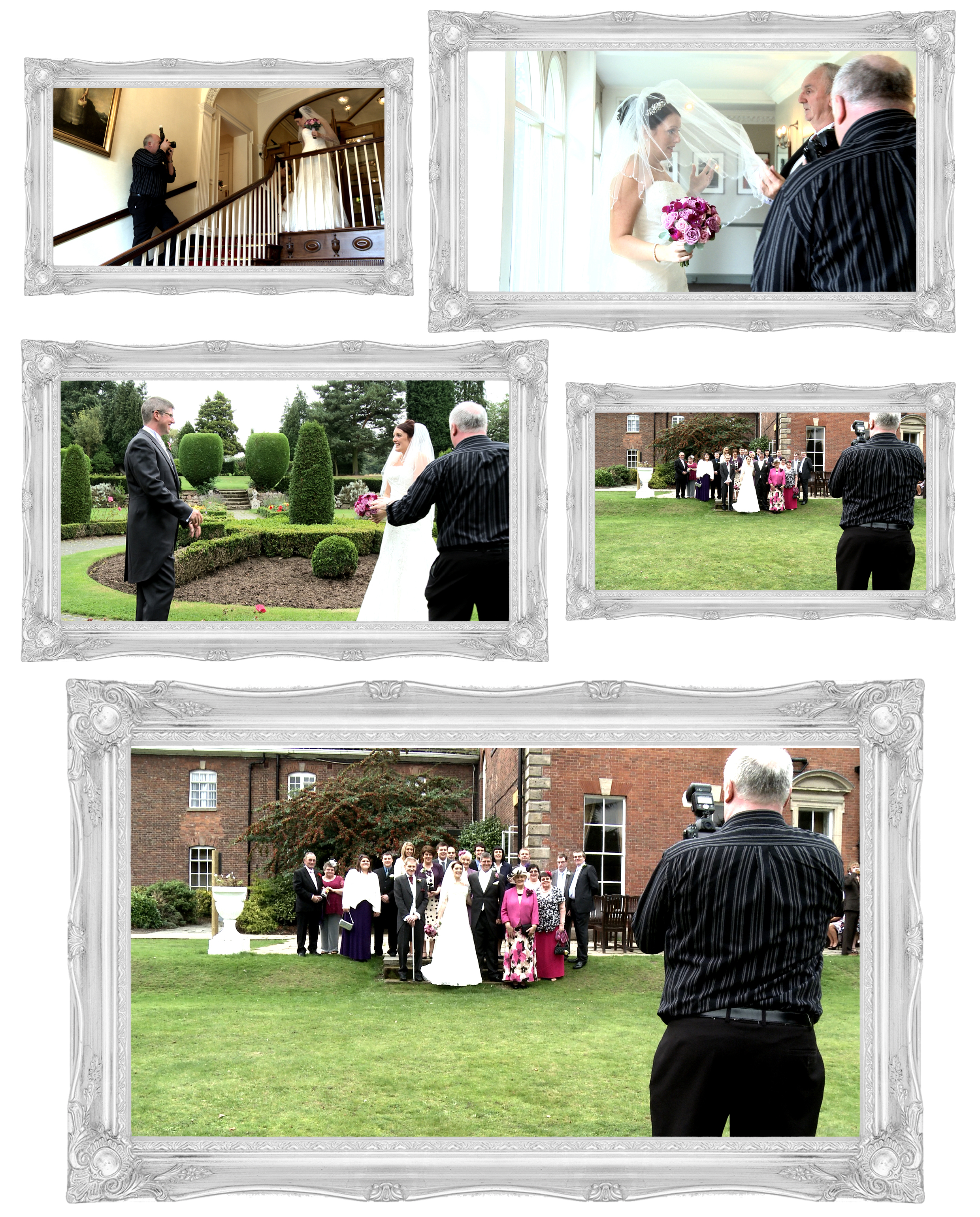 Wedding Photographer or Videographer, or both?