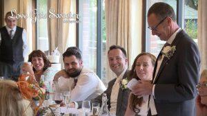 father of the bride speech hand written notes after wedding breakfast