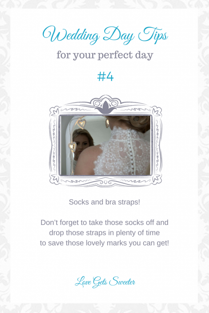 top wedding tips for your wedding day number 4 from wedding videographer love gets sweeter to help a bride get ready in the morning