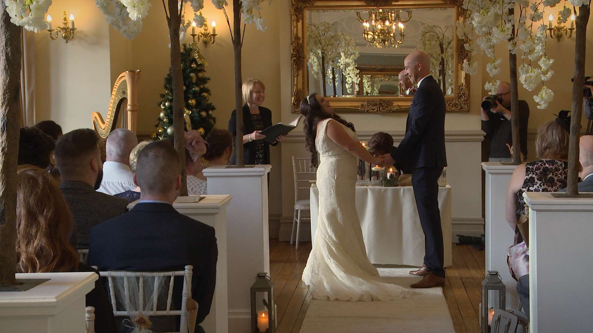 A Boxing Day Winter Wedding Video at Nunsmere Hall
