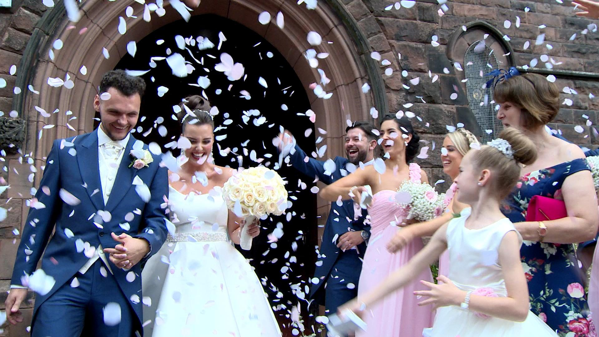 A Classic and Pretty Thornton Hall Wedding Video