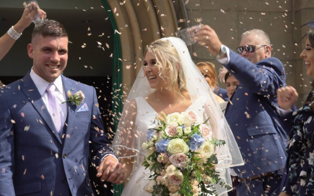 A Summer Wedding Video in Burscough, Lancashire