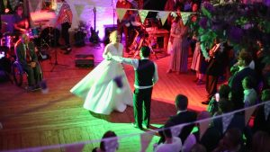 first dance on video at Wyresdale Park