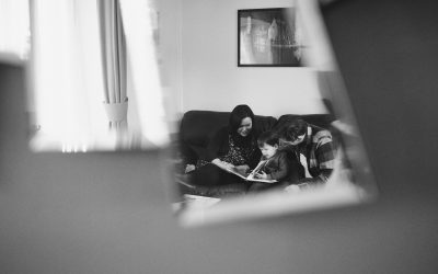 A Home Session – Family Photography and Film in Cheshire