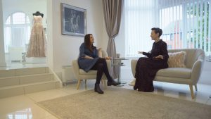 love gets sweeter sits chatting to clare suzanne bridal in liverpool