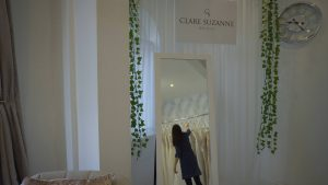 shot of clare suzanne bridal in liverpool