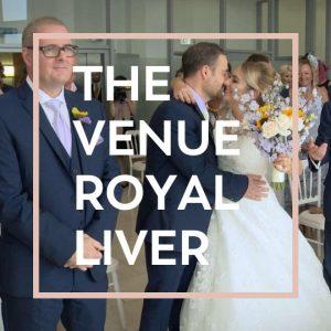 venue at royal liver building wedding