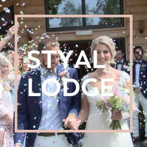 styal lodge real wedding Cheshire button