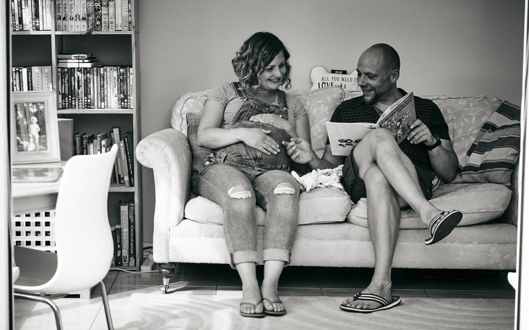 Natural Maternity Photoshoot Lancashire