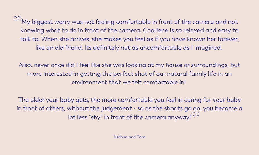 family review on candid natural family photographer