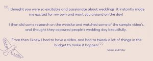 passionate cheshire videographer review