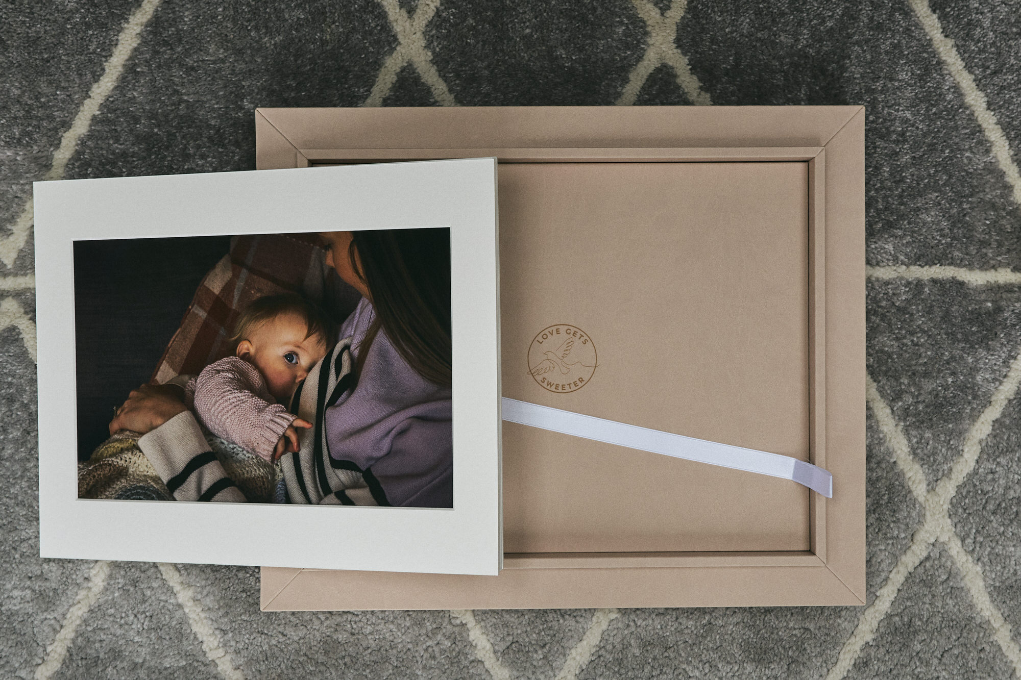 bespoke luxury family photography frame