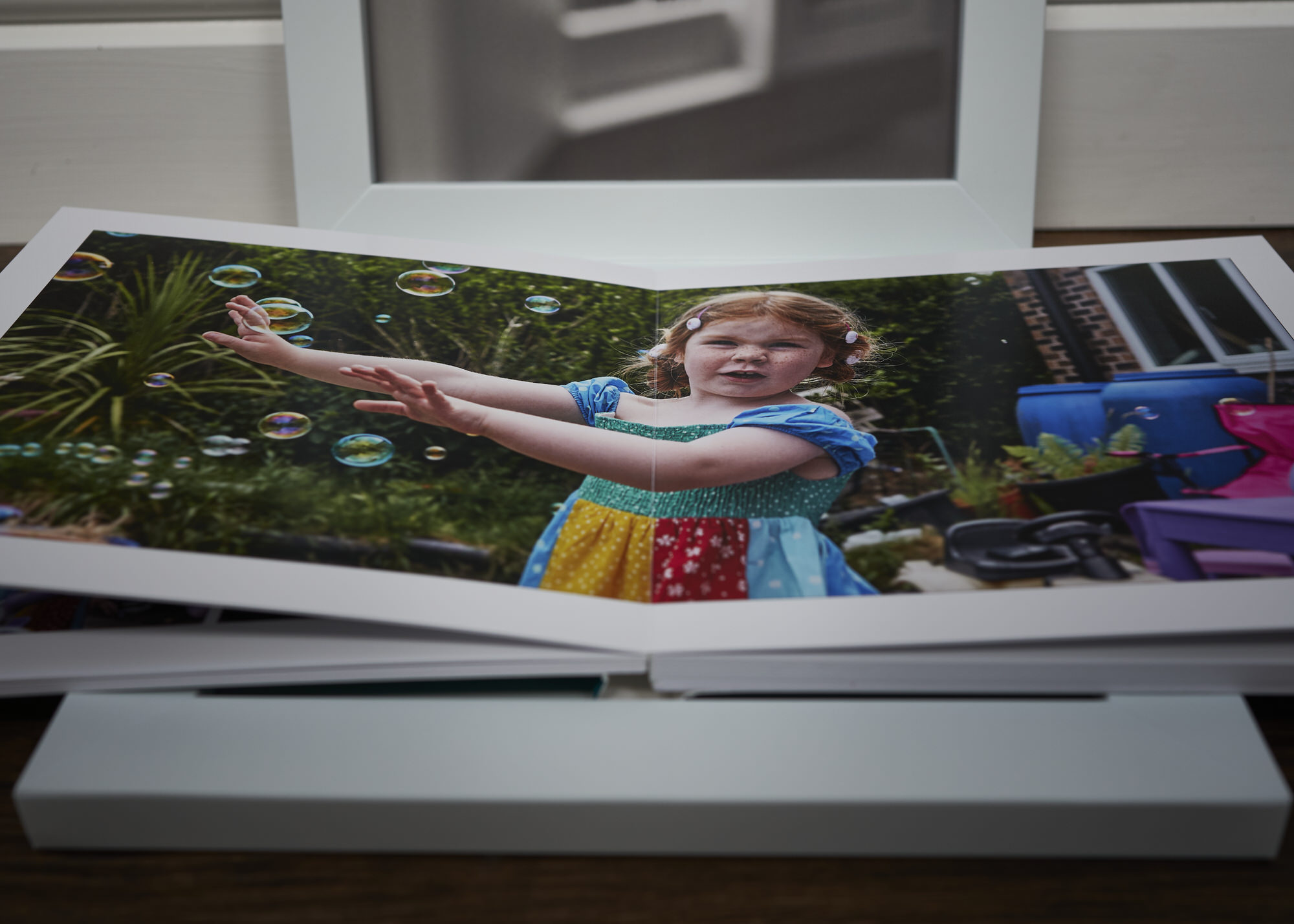 lay flat family photo book album