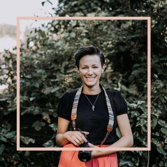 natural photo of female lancashire wedding videographer