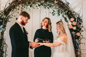independent celebrant ceremony at west tower