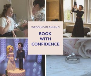 book wedding suppliers with confidence ad