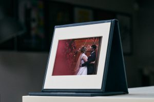 beautiful USB display case of wedding day