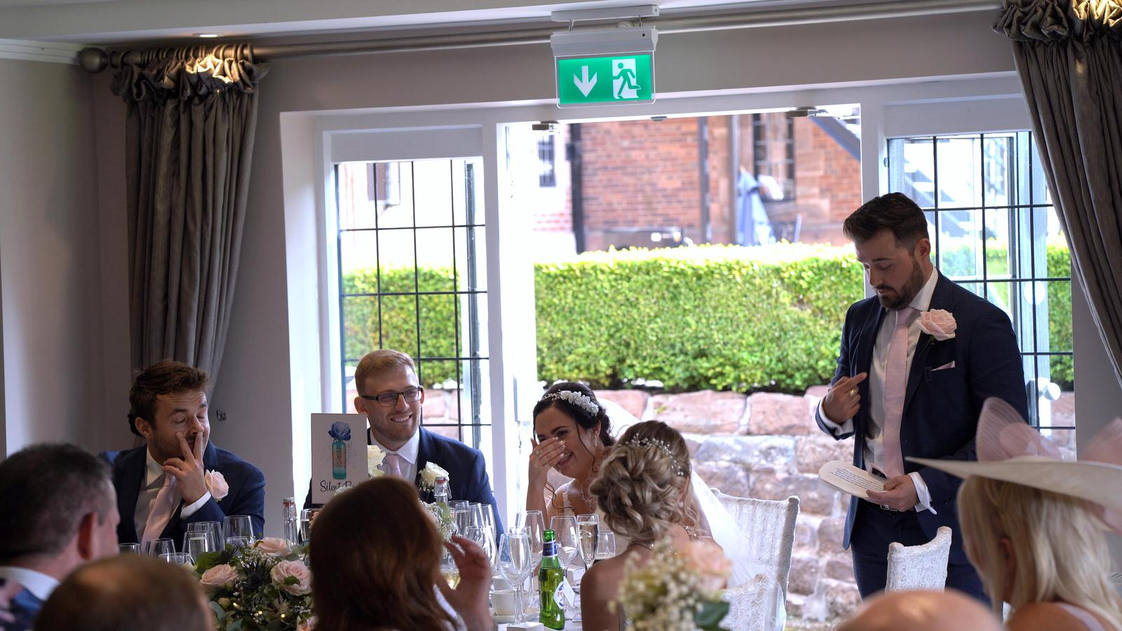 brother of the bride speech at Inglewood Manor